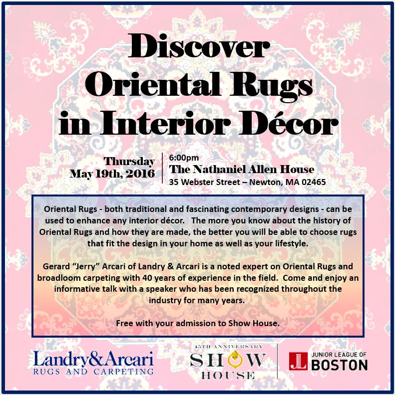 160503 rev 2 - Discover Oriental Rugs in Interior Decor