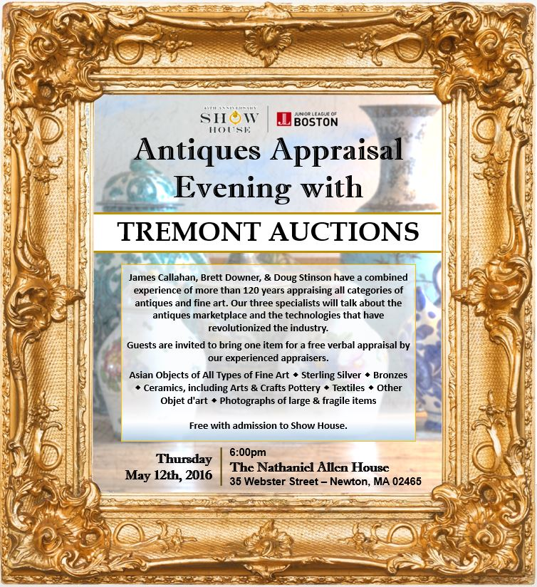 160506 - Antiques Appraisal Evening with Tremont Auctions (1)