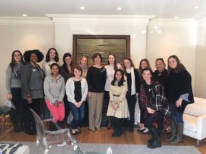 JL Boston members at one of our 2018 Salon Series trainings, with speaker Trish Gannon, Executive Vice President, Finance & Planning, and Chief Financial Officer for the Boys & Girls Clubs of Boston