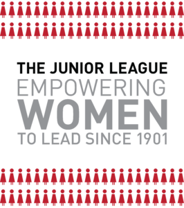 Design that reads The Junior League empowering women to lead since 1901