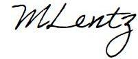 M Lentz signature