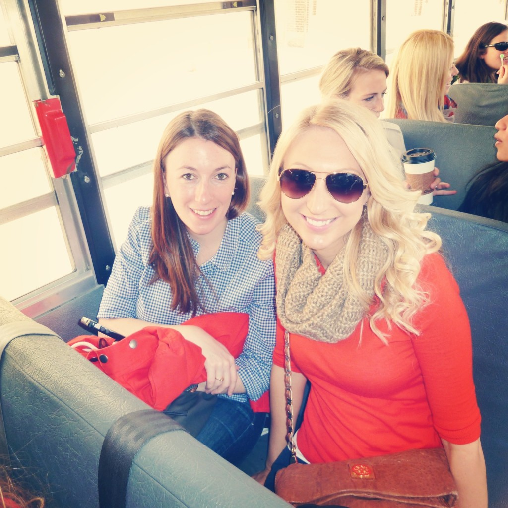 Amy and her fellow Provisional Group member, Liz, relive grade school while learning about Boston and the League.